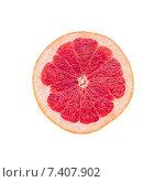 Грейпфрут на белом фоне. Стоковое фото, фотограф Ольга Бавыкина / Фотобанк Лори