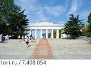 Купить «Графская пристань, вид с моря. Севастополь.», фото № 7408054, снято 4 августа 2014 г. (c) Ирина Балина / Фотобанк Лори