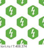 Купить «Lightning pattern», иллюстрация № 7408374 (c) Иван Рябоконь / Фотобанк Лори