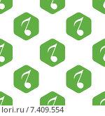 Купить «Eighth note pattern», иллюстрация № 7409554 (c) Иван Рябоконь / Фотобанк Лори