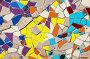 Абстрактный разноцветный мозаичный фон, фото № 7411898, снято 11 мая 2015 г. (c) FotograFF / Фотобанк Лори