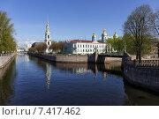 Никольский морской собор в Санкт-Петербурге (2012 год). Стоковое фото, фотограф олег данильченко / Фотобанк Лори