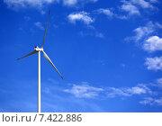 Купить «Ветрогенератор», фото № 7422886, снято 8 июня 2013 г. (c) Анна Полторацкая / Фотобанк Лори