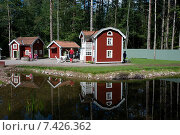 Купить «Vimmerby, Sweden, the small, small town in Astrid Lindgren's World», фото № 7426362, снято 20 августа 2009 г. (c) Caro Photoagency / Фотобанк Лори