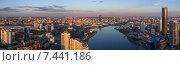 Купить «Аэросъемка Екатеринбурга», фото № 7441186, снято 19 августа 2018 г. (c) Антон Федорченко / Фотобанк Лори