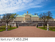 Купить «Большой Меншиковский дворец, Ораниенбаум», фото № 7453294, снято 16 мая 2015 г. (c) Юлия Бабкина / Фотобанк Лори