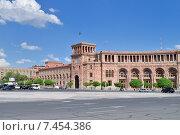 Дом правительства, Ереван, Армения (2015 год). Редакционное фото, фотограф VahanN / Фотобанк Лори