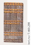 Купить «Vintage wooden door», фото № 7460298, снято 18 ноября 2014 г. (c) Яков Филимонов / Фотобанк Лори