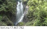 Водопад Нувара Элия (2015 год). Стоковое видео, видеограф Олег Жигунов / Фотобанк Лори