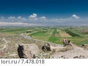 Араратская долина. Стоковое фото, фотограф Игорь Горелик / Фотобанк Лори
