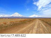 Дорога к вулканам (2015 год). Стоковое фото, фотограф Оксана Дудкина / Фотобанк Лори