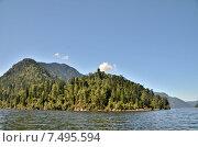 Купить «Озеро Телецкое, Алтай», фото № 7495594, снято 4 августа 2014 г. (c) Александр Карпенко / Фотобанк Лори