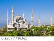 Купить «Голубая мечеть, Султанахмед мечеть, Стамбул», фото № 7496626, снято 12 мая 2015 г. (c) Наталья Волкова / Фотобанк Лори