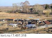 Купить «Село Травники», фото № 7497318, снято 1 мая 2015 г. (c) Сергей Костарев / Фотобанк Лори