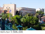 Купить «iew of Tarragona with Palace of Pretori Roma», фото № 7506330, снято 16 мая 2015 г. (c) Яков Филимонов / Фотобанк Лори