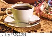 Купить «Кофейная композиция», фото № 7525362, снято 25 октября 2014 г. (c) Виктор Топорков / Фотобанк Лори