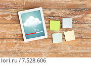 stickers and tablet pc transferring data. Стоковое фото, фотограф Syda Productions / Фотобанк Лори