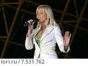 Купить «Певица Юлия Началова», фото № 7531762, снято 18 сентября 2019 г. (c) михаил красильников / Фотобанк Лори