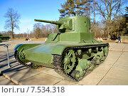 Советский лёгкий танк Т-26 (2015 год). Редакционное фото, фотограф Юрий Винокуров / Фотобанк Лори