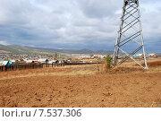 Купить «Поселок Песчанка. Забайкальский край», эксклюзивное фото № 7537306, снято 26 сентября 2007 г. (c) Александр Щепин / Фотобанк Лори