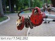Замок любви. Стоковое фото, фотограф Матвеева Елизавета / Фотобанк Лори