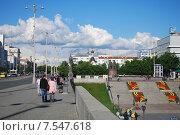 Екатеринбург. Исторический сквер (2015 год). Редакционное фото, фотограф Евгений Кузнецов / Фотобанк Лори