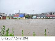 Наводнение. Стоковое фото, фотограф Елена Соболева / Фотобанк Лори