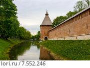 Смоленский кремль (2014 год). Редакционное фото, фотограф Михаил Кочиев / Фотобанк Лори