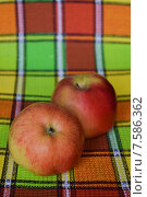 Яблоки. Стоковое фото, фотограф Ксения Ларкина / Фотобанк Лори