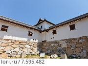 Купить «Башня Бугу Ягура замка Имабари (построен в 1604, реконструирован в 1980 г.) в г. Имабари, о. Сикоку, Япония», фото № 7595482, снято 21 мая 2015 г. (c) Иван Марчук / Фотобанк Лори