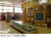 Купить «Экспозиция музея народных промыслов в Нижнем Новгороде», эксклюзивное фото № 7604982, снято 19 апреля 2015 г. (c) Константин Косов / Фотобанк Лори