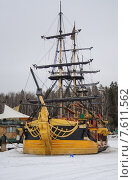 Пиратский корабль. Редакционное фото, фотограф Виталий Булыга / Фотобанк Лори