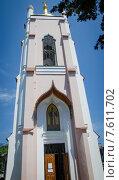 Купить «Храм Св. Иоанна Златоуста в городе Ялта», фото № 7611702, снято 11 мая 2013 г. (c) Валерий Апальков / Фотобанк Лори