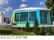 Купить «Конгресс-холл, Уфа», фото № 7619746, снято 27 июня 2015 г. (c) Коротнев / Фотобанк Лори