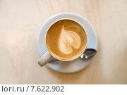 Чашка кофе с сердцем. Стоковое фото, фотограф Малахов Алексей / Фотобанк Лори