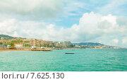 Купить «Канны, панорамный таймлапс», видеоролик № 7625130, снято 4 июля 2014 г. (c) Алексас Кведорас / Фотобанк Лори