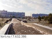 Купить «Парк Нефтехимиков. Нижнекамск», эксклюзивное фото № 7632386, снято 25 ноября 2014 г. (c) Сергей Лаврентьев / Фотобанк Лори