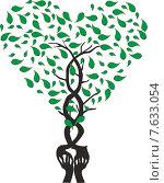Руки-дерево. Стоковая иллюстрация, иллюстратор Буркина Светлана / Фотобанк Лори