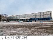 Купить «Автожелезнодорожный вокзал в Нижнекамске», эксклюзивное фото № 7638554, снято 25 ноября 2014 г. (c) Сергей Лаврентьев / Фотобанк Лори