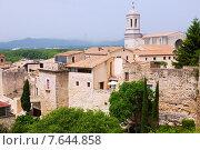 Купить «View of Medieval Girona», фото № 7644858, снято 15 октября 2018 г. (c) Яков Филимонов / Фотобанк Лори
