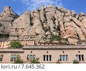 Купить «Монастырь бенедиктинцев в испанских горах Монтсеррат», фото № 7645362, снято 19 сентября 2019 г. (c) Владимир Григорьев / Фотобанк Лори
