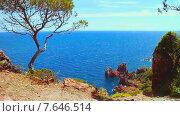Купить «Средиземноморское побережье Франции», видеоролик № 7646514, снято 28 октября 2014 г. (c) Алексас Кведорас / Фотобанк Лори