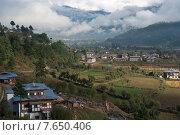 Chokhor Valley, Bumthang District, Bhutan (2010 год). Стоковое фото, фотограф Keith Levit / Ingram Publishing / Фотобанк Лори