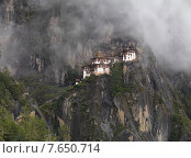 Купить «Taktsang Monastery, Paro Valley, Paro District, Bhutan», фото № 7650714, снято 19 октября 2010 г. (c) Ingram Publishing / Фотобанк Лори