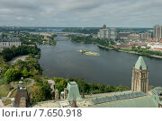 Купить «Parliament Hill, Ottawa, Ontario, Canada», фото № 7650918, снято 2 сентября 2013 г. (c) Ingram Publishing / Фотобанк Лори