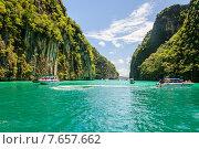 Залив. Острова Индийского океана. Таиланд. Редакционное фото, фотограф Виталий Булыга / Фотобанк Лори