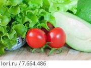 Полезные овощи - здоровая еда. Стоковое фото, фотограф Наталья Белых / Фотобанк Лори