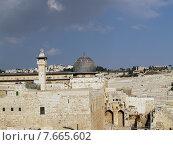 Купить «Вид на мечеть аль-Акса в Иерусалиме, Израиль», фото № 7665602, снято 9 октября 2012 г. (c) Ирина Борсученко / Фотобанк Лори
