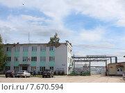 Харовск леспром (Вологодская область) (2015 год). Редакционное фото, фотограф Анатолий Киренков / Фотобанк Лори