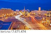 Купить «Санкт-Петербург. Вид сверху на площадь Восстания», эксклюзивное фото № 7671474, снято 11 июля 2015 г. (c) Литвяк Игорь / Фотобанк Лори
